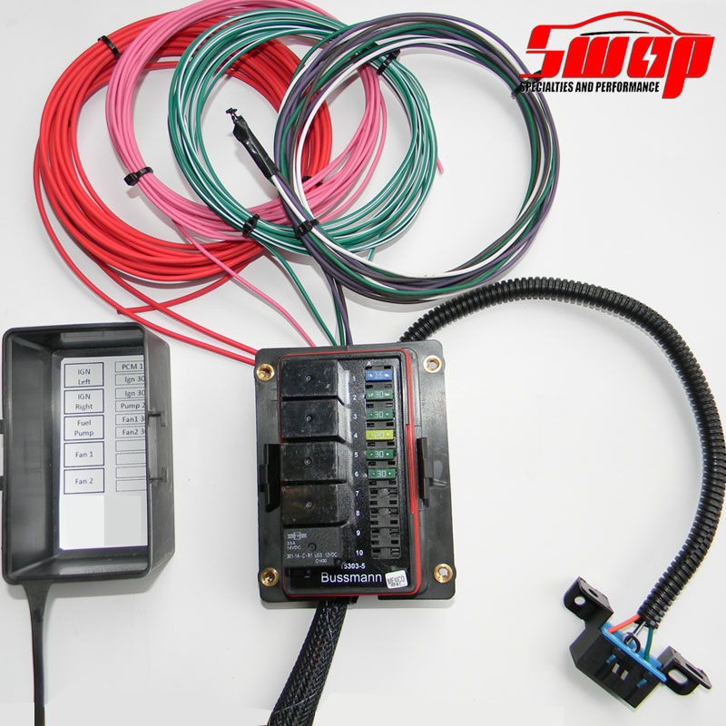 custom wiring harness for s10 gm ecotec standalone harness     swap specialties  gm ecotec standalone harness     swap