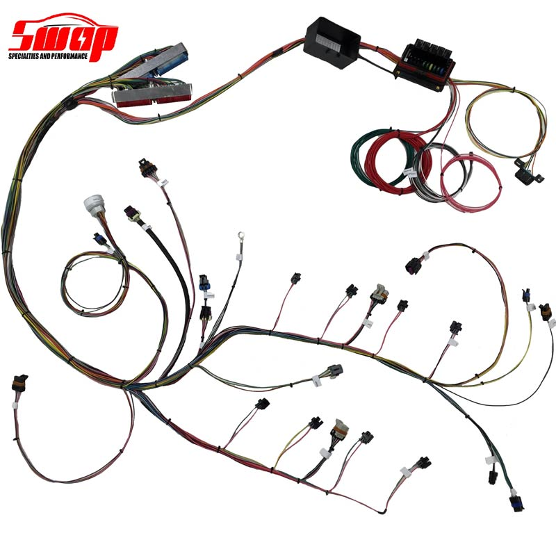 unwrapped harness 01 ls 24x standalone harness swap specialties 5 3 wiring harness stand alone at n-0.co