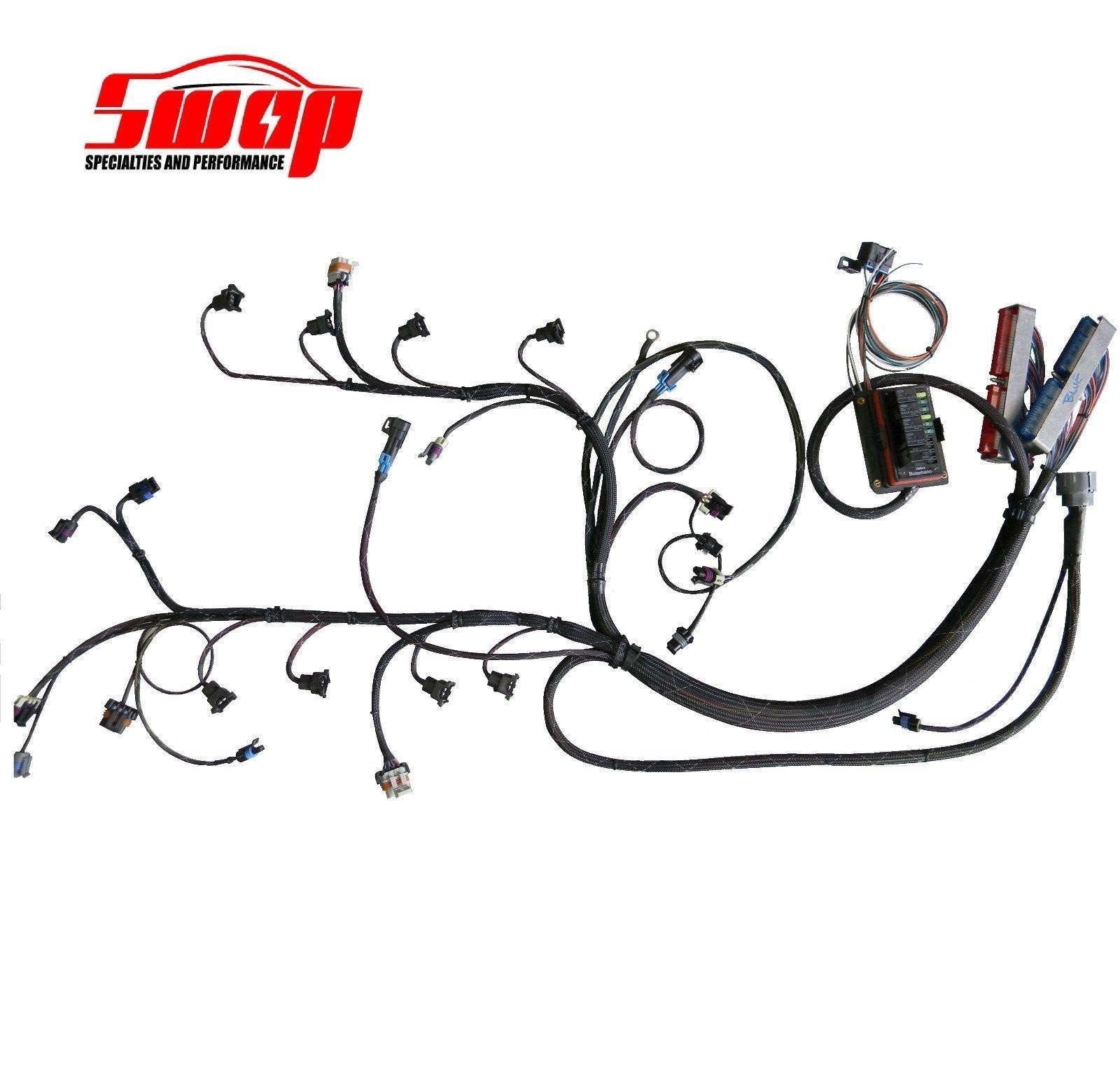 Ac Wiring Harness Conversion With Ls1 Real Diagram S10 2 4 Ecotec Stand Alone 37 Engine
