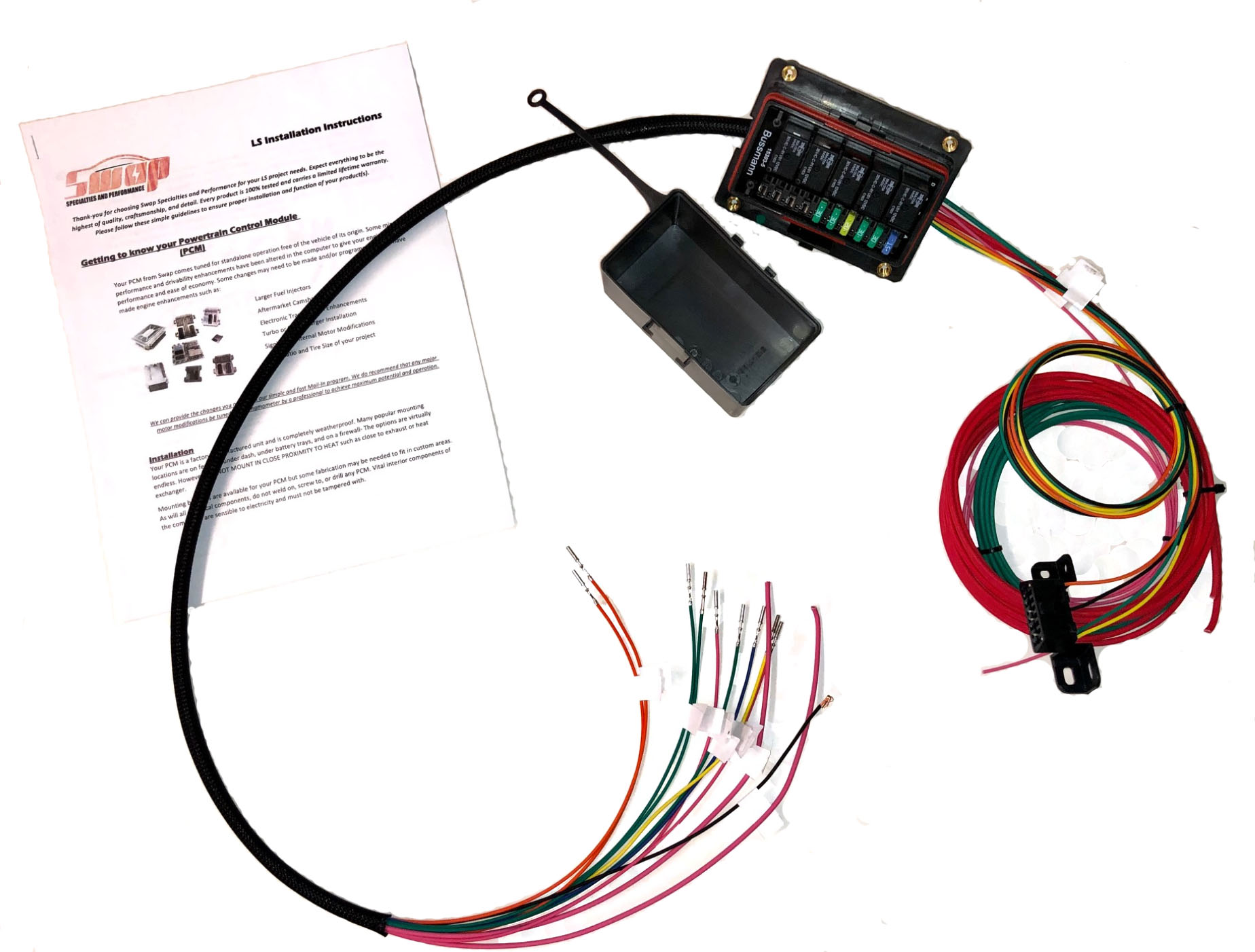 ls diy standalone fusebox and relay kit